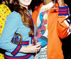 lana del rey and asap rocky image