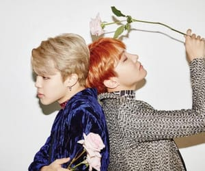 korea, bts, and roses image