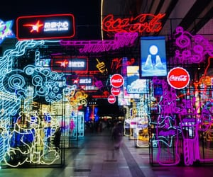 china, colors, and night image