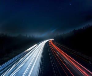 background, dark, and highway image