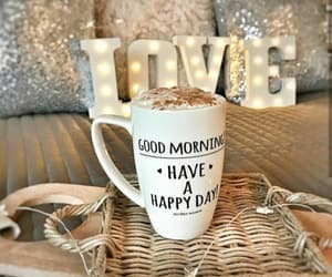 coffee, good day, and good morning image