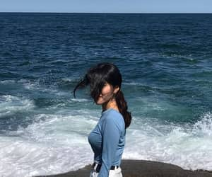 blue, beach, and aesthetic image