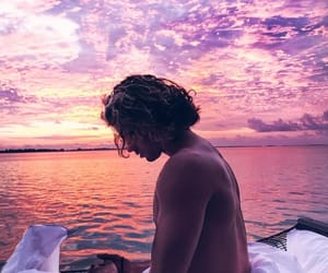 boy, travel, and tropical image