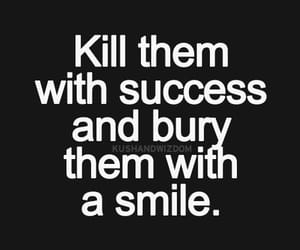 quotes, success, and smile image
