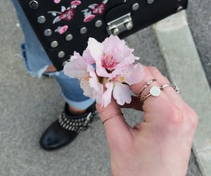 bag, Best, and flowers image
