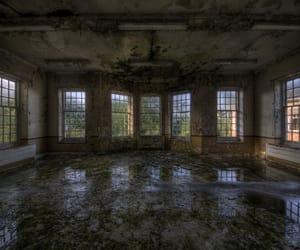 abandoned, asylum, and creepy image