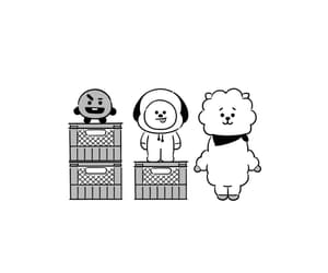 rj, bts, and chimmy image