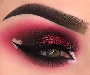 makeup and valentine image