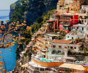 city, italy, and nature image