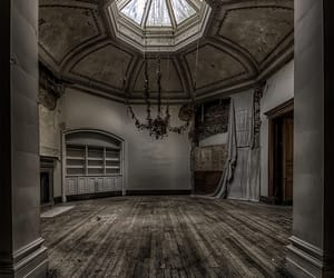 abandoned, decay, and derelict image