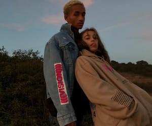 couple and jaden smith image