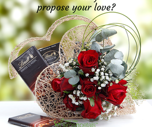 lovegifts, fernsnpetals, and proposeday image