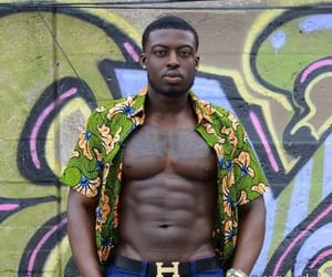 abs, black king things, and guys image