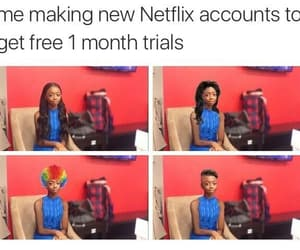 netflix, funny, and lol image