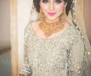 bride, weeding, and pakistani image