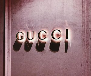 gucci, pink, and rose gold image