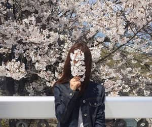 girl, flowers, and korean image