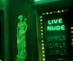 aesthetic, greens, and neon sign image