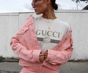 gucci, fashion, and pink image