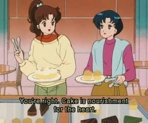 anime, cake, and sailor moon image