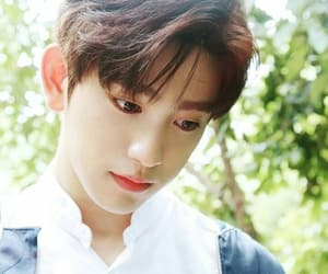 eyes, jinyoung, and cute image