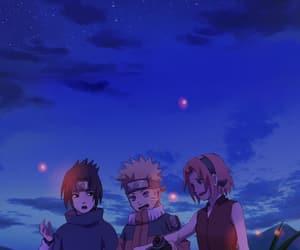 naruto, sasuke, and sakura image