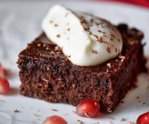 brownies, gluten free, and chocolate image