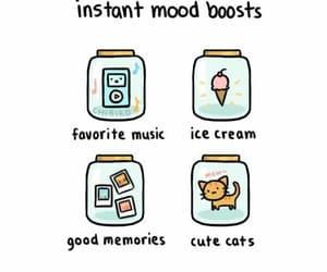 icecream, music, and kawaii image