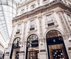 Louis Vuitton, luxury, and architecture image