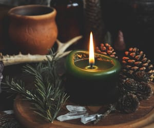 nature, wicca, and pagan image