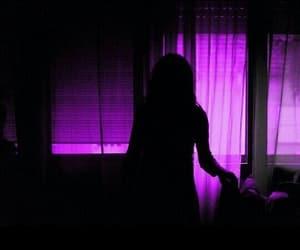 alternative, girl, and purple image
