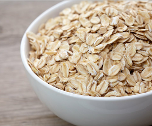 food and oat meal image