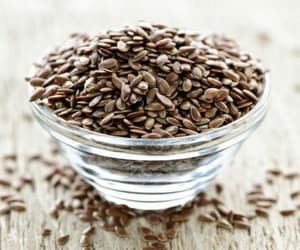 food and flaxseed image
