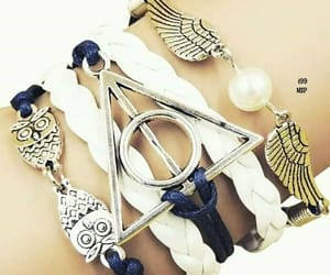 harry potter, pulsera, and pulceras image
