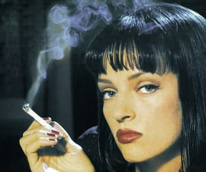 pulp fiction and uma thurman image
