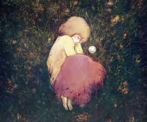 good night, anime little girl, and anime sleep image