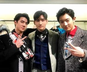 sehun, chanyeol, and changmin image