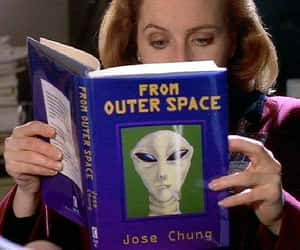 alien, aliens, and book image