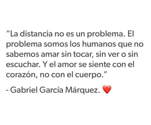 espanol, gabriel garcia marquez, and amor a distancia image