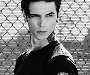 andy biersack and black image