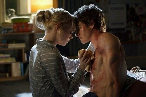 spiderman, andrew garfield, and emma stone image