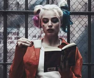 harley quinn, suicide squad, and book image