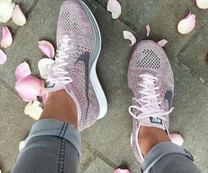 nike, shoes, and pink image
