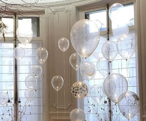 balloons, home, and party image