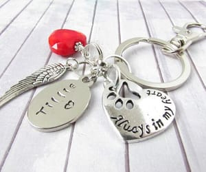 hand stamped, etsy, and car accessories image