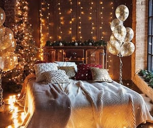 light, room, and balloons image