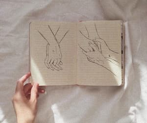 aesthetic, draw, and hands image