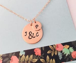 etsy, valentines, and rose gold image