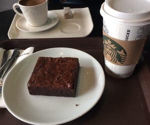 brownie and starbucks image