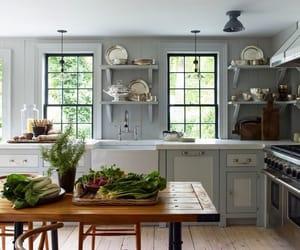kitchen, home decor, and farmhouse style image